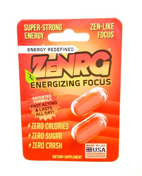 ZeNRG Capsules Package